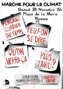 Marche pour le climat 28.11 Rennes