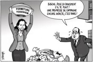 Fessenheim, Bibiche et les promesses électorales