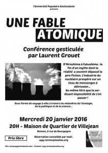 une fable atomique par Laurent Grouet