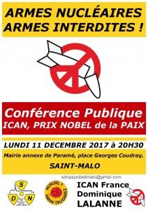 ICAN Affiche conf' D.Lalanne st-malo 11.12.2017