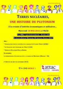 TerresNucléaires ciné-débat Attac